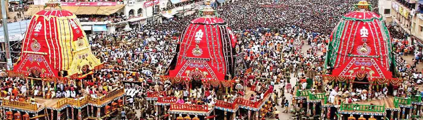 Puri Rath Yatra Festival in Puri, Odisha, India