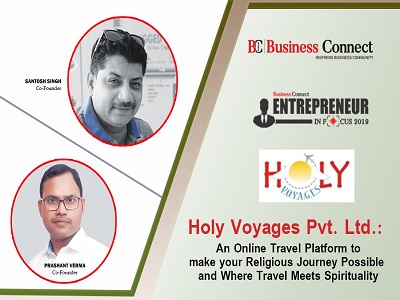 Entrepreneur in focus 2019 in India Tourism by Business Connect