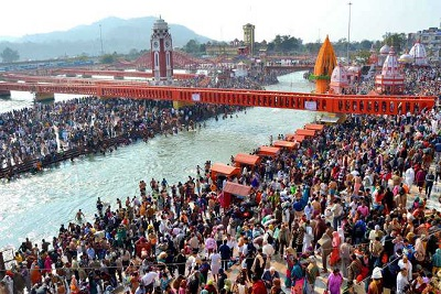 02 Night 03 Days Maha Kumbh Haridwar Tour Package