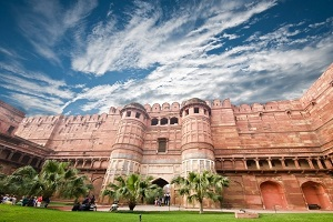 agra fort unesco world heritage india