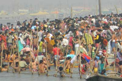 2019 Ardh Kumbh Mela- Local Trip to Triveni Sangam- in Allahabad, India