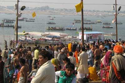 Ardh Kumbh 2019 Triveni Sangam Fair Tour from Varanasi, India