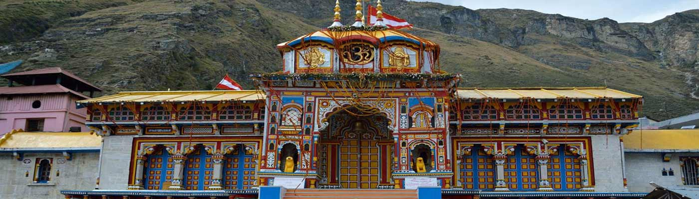 Badhrinath Temple Uttrakhand India