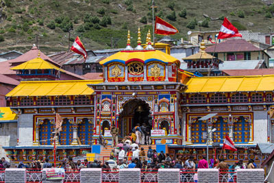Badrinath Yatra from Delhi with Rishikesh & Haridwar in India
