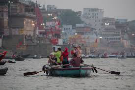 Boating in the Ganga