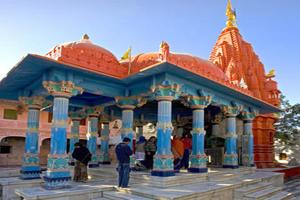 Brahma Temple in Puskar