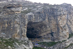 Amarnath Cave in Jammu Kashmir India