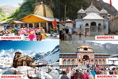 Char Dham Yatra by Helicopter from Haridwar