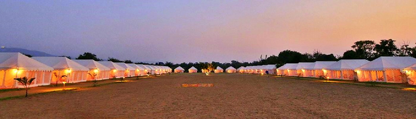 Super Deluxe Luxury Tents in Haridwar