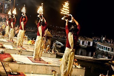 Evening Ganga Aarti with Boat Ride