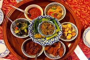 food of bodhgaya