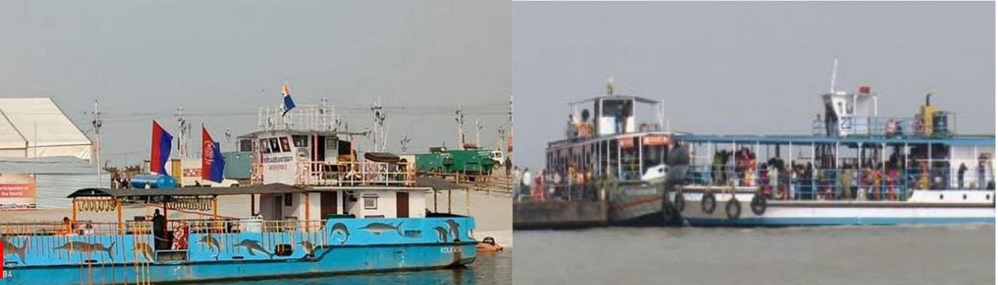 Four Terminal Setup up for passenger movement in Ganga Ardh Kumbh 2019