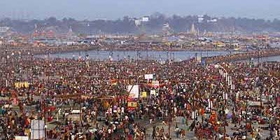 Holy Dip at Ganges
