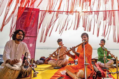 Some soulful music at Kabira Festival in Banaras