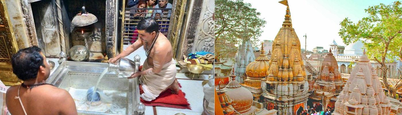 Kashi Vishwanath Temple sanctum sanctorum