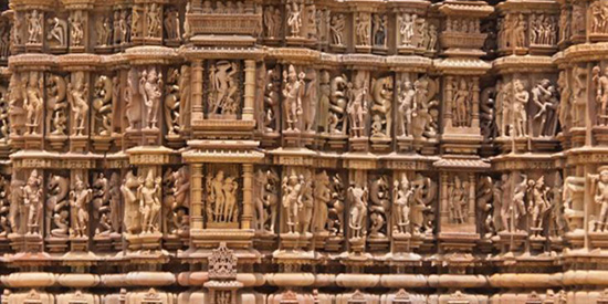 Wall of Khajuraho