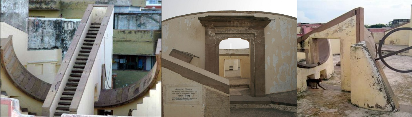 Kashi's Gyan Mala, Man Singh Observatory, a unique example of Mughal and Rajput architecture