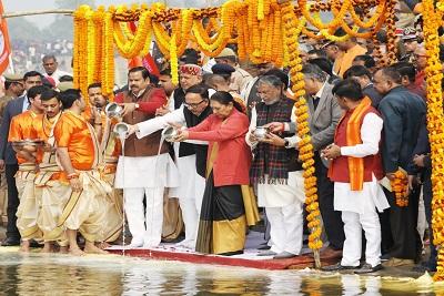 Nirmal Ganga Dhara Yatra begins from Ballia for saving Ganaga river