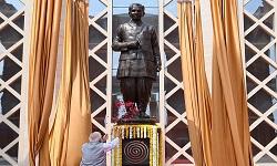 Pandit DeenDayal Museum 63ft-tall statue of DDU