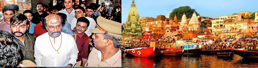 Rajinikant Visited Kashi Vishwanath Temple in Varanasi
