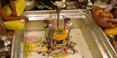 Rudrabhisek in Kashi Vishwanath Temple Varanasi