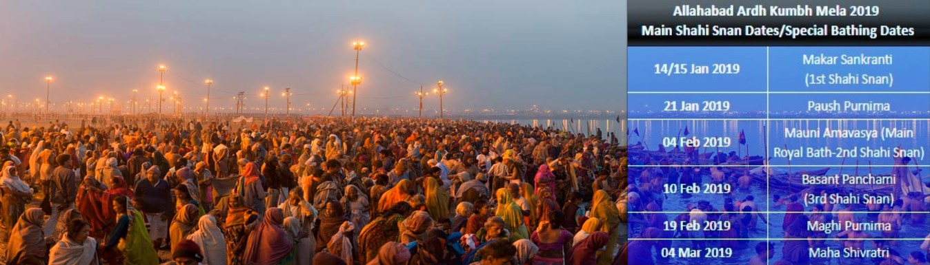 Ardh Kumbh Mela in Allahabad India