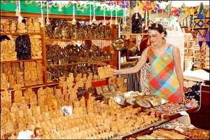 shopping in khajuraho india