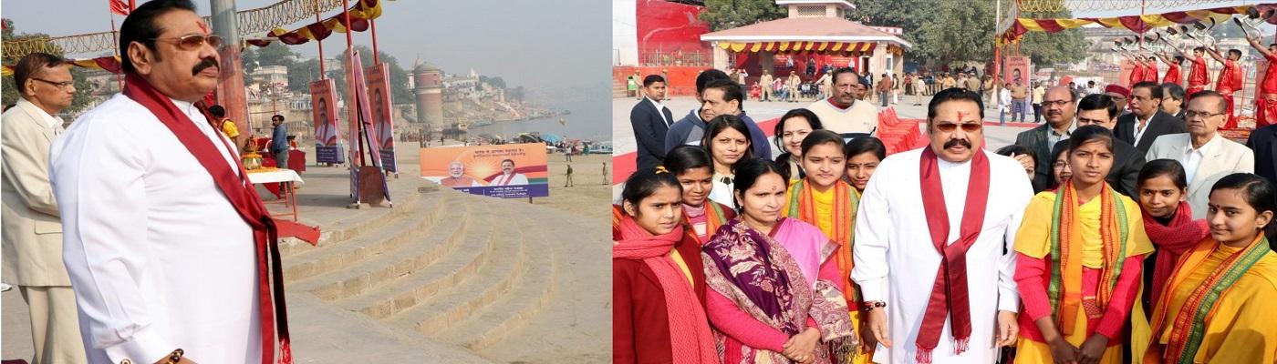 Ahead of Sri Lankan PM visit, Varanasi