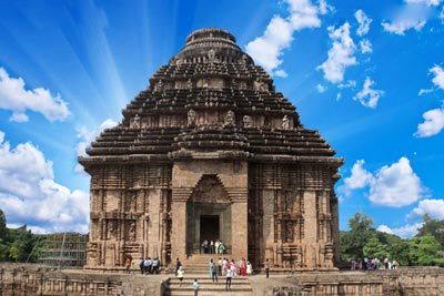 Konark Sun Temple Tour Package with Bhubaneswar & Puri in Odisha India