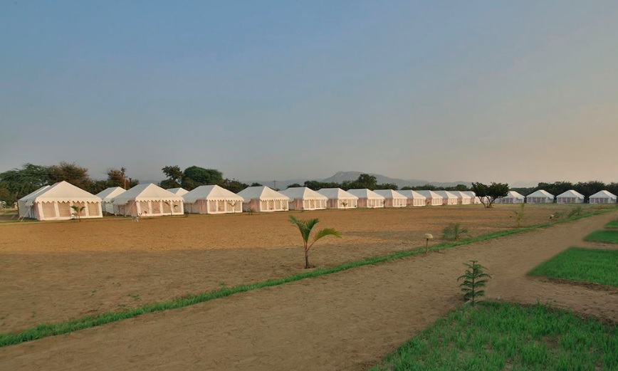 Tent House in Ardh Kumbh Allahabad