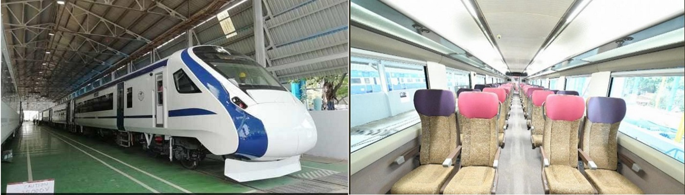 Train 18 Faster Train Flagged off By Prime Minister