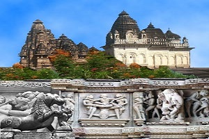 unesco world heritage place khajuraho india