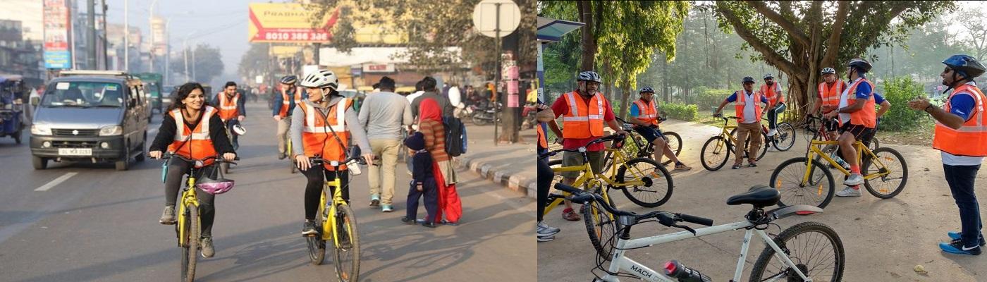 E-Cycle Tour in Varanasi