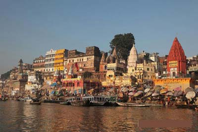 Morning Boat Ride in Varanasi