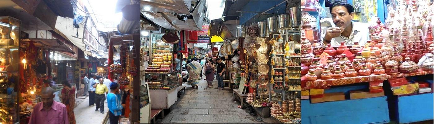 Vishwanath Lane Markets in Varanasi