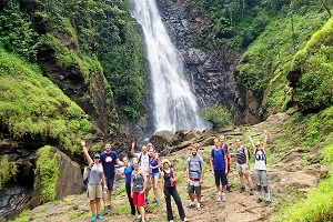 waterfalls of goa india