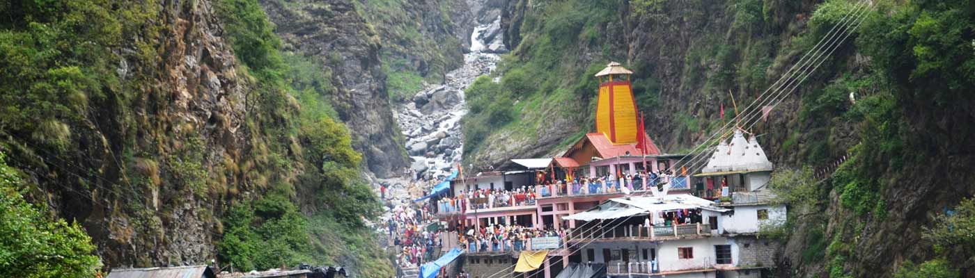 Yamunotri Temple Uttrakhand India